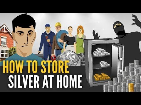 How To Store Silver Bars & Coins At Home - Mike Maloney - YouTube