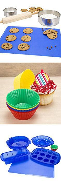 how to use silicone cupcake molds