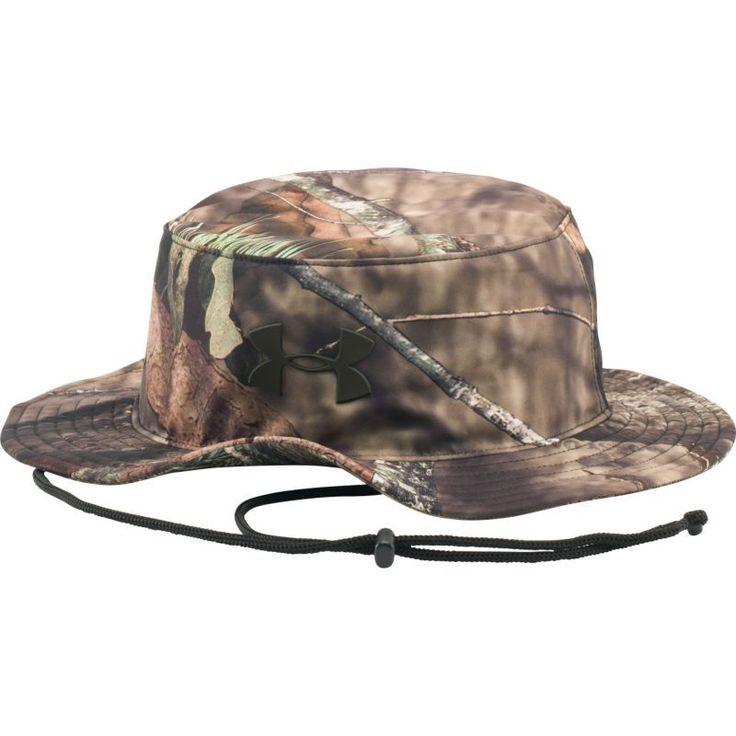 Under Armour Men's Camo Bucket Hat, Brown