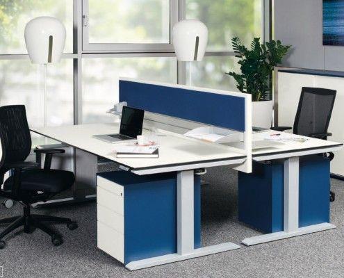 s435 sitz - position - arbeitstisch mit flexibler tischhöhe #workplace