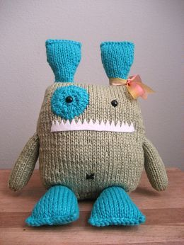 Monster, must knit one for grandkids!