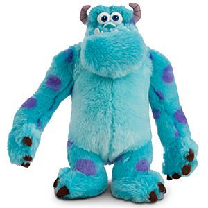 Disney Sulley Plush - Monsters, Inc. - Medium - 13 1/2'' | Disney StoreSulley Plush - Monsters, Inc. - Medium - 13 1/2'' - You'll never be blue with a big hug at the ready for our super-soft James P. Sullivan plush toy. Bright and silky faux fur highlights the oversize star of Disney/Pixar's <i>Monsters, Inc.</i>