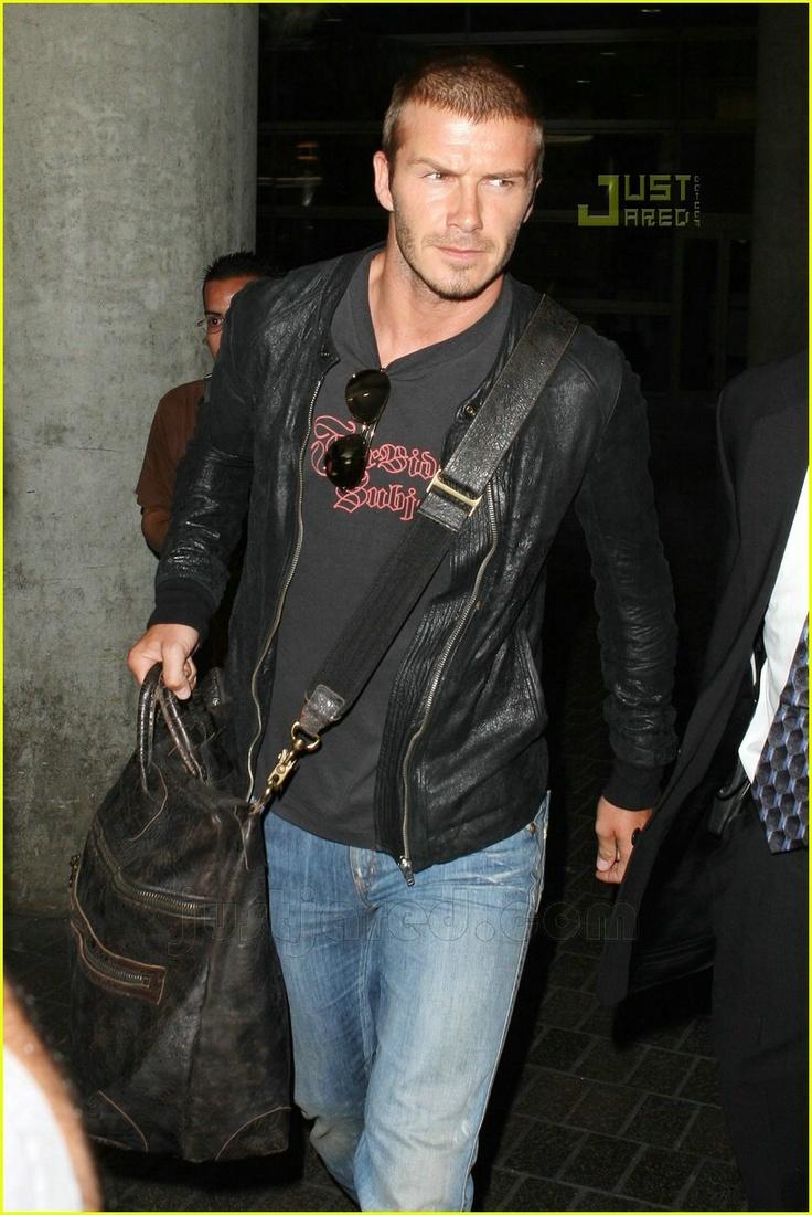 Superdry beckham leather jacket