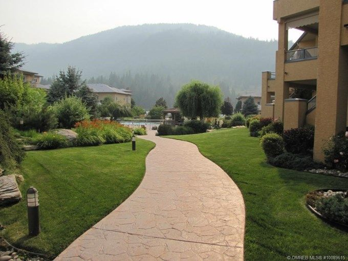 Condominium for Sale - 11 - 714 Riverside AVE, Sicamous, BC V0E 2V0 - MLS® ID 10089615. Furnished, well kept 2 Bedroom, 2 Bathroom, level entry 1998 Condo in the beautiful Mara Landing Complex. This lovely condo is looking on to the beautifully landscaped courtyard and outdoor heated pool.