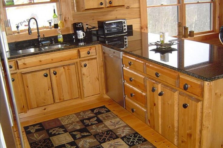 Small Rustic Kitchen Cabinets