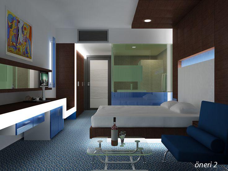 Holiday Inn Otel Oda Çalışmaları 2010