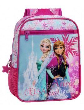 Mochila Frozen Elsa & Anna 28cm