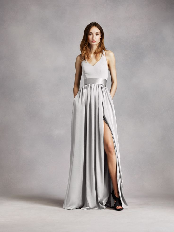 17 best images about gray wedding on pinterest grey for Vera wang gray wedding dress