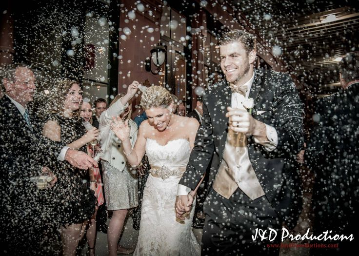 Bride and Groom Wedding Photograph