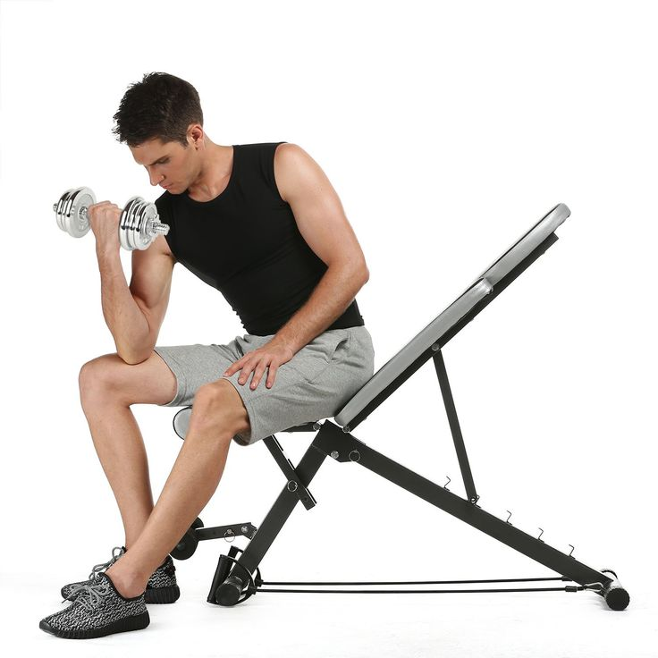 Heavy Workout Utility Weight Bench with 5 position Adjustment Incline Decline Bench. [5-Position Adjustment]---The Ziema workout bench can be adjusted to five different positions.Simple to adjust from decline,flat,incline,and upright. [ Removable Leg Hold-down Brace] --- This adjustable weight bench comes with a removable leg hold-down brace for added decline position support. [Versatile Bench ]--- The Ziema Weight Bench is a multi-functional equipment that lets you perform a variety of...