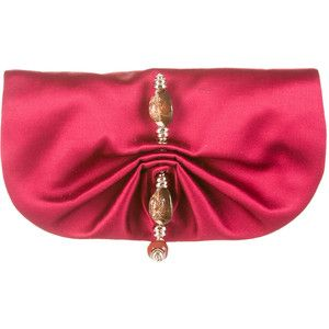 VIDA Leather Statement Clutch - Shimmering Horizon Clutch by VIDA Ji1pP