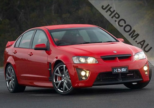 Holden Commodore VE GTS.