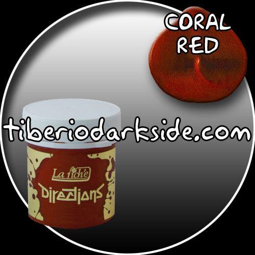 COLOR - CORAL REDTONO - Rojo coralMARCA - DirectionsDECOLORACIÓN NECESARIA - MediaPRODUCTO:Tinte semi-permanente para uso sobre cabello decolorado.DESCRIPCIÓN:Coloración en crema. No contiene peróxido ni amoniaco.DURACIÓN:Se cae gradualmente en 6- 8 lavados aprox.PRESENTACIÓN:Bote de 88 ml con tapón de rosca.Modo de empleo:- Aplicar sobre cabello limpio y seco.- Dejar actuar de 20 a 30 min.- Aclarar.Recomendaciones:- Para personas que nunca se hayan teñido anteriormente, realizar un test de…