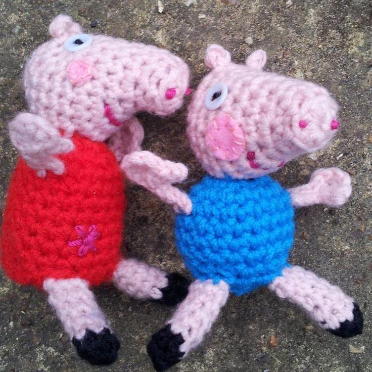 Amigurumi Tutorial Peppa Pig : Little peppa pig crochet pattern yarn free pdf thanks so