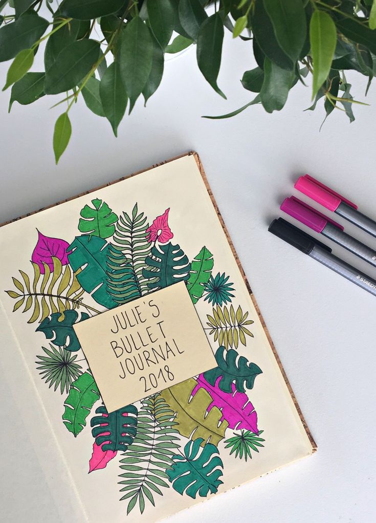 Bullet journal cover by Julie Awouters