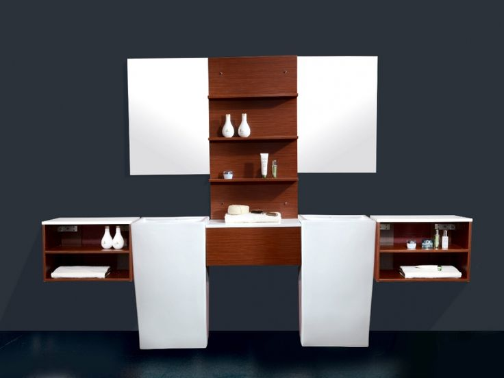 ensemble bogoria meubles de salle de bain double vasque au sol et de nombreux rangements. Black Bedroom Furniture Sets. Home Design Ideas