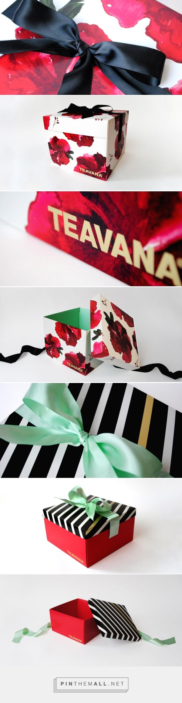 Teavana | Holiday Packaging Design | Creative Retail Packaging | crpkg.com…