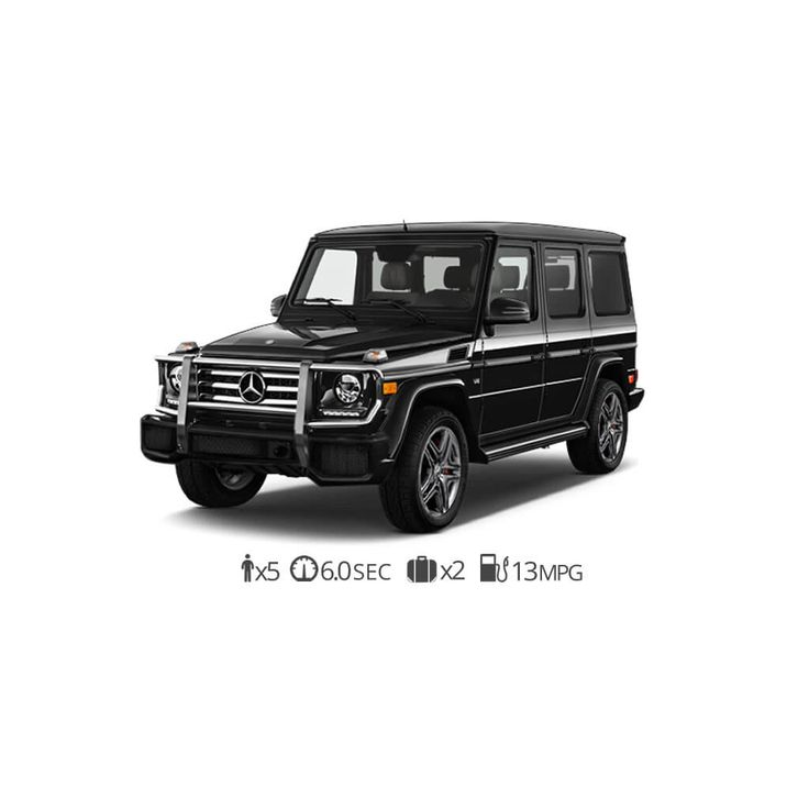 This Mercedes Benz G63 AMG Rental Comes Loaded With A Few