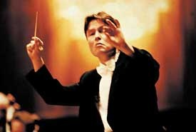 Esa-Pekka Salonen is a Finnish orchestral conductor and composer. He is currently Principal Conductor and Artistic Advisor of the Philharmonia Orchestra in London and Conductor Laureate of the Los Angeles Philharmonic