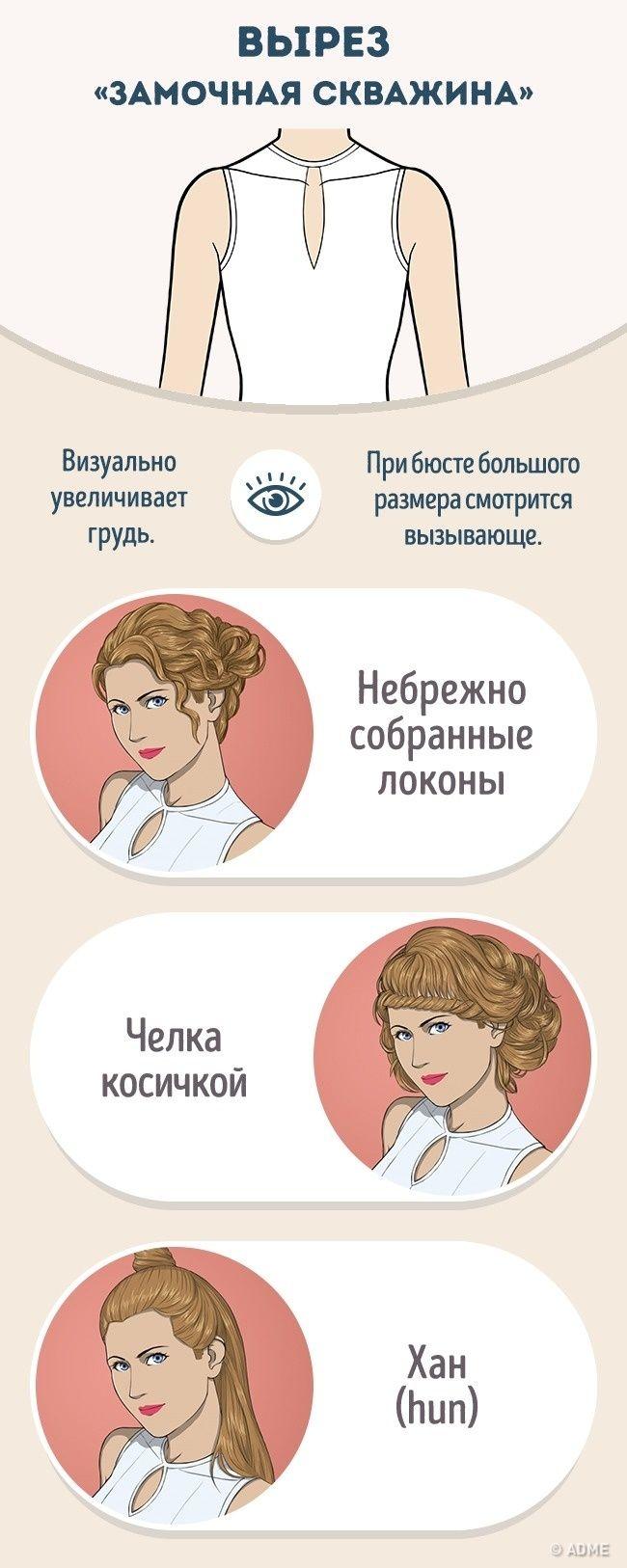 Удачное сочетание прически и формы декольте является важным условием гармоничного образа. Правильно уложенные волосы помогут подчеркнуть достоинства и отвлекут внимание от изъянов фигуры.Мы предлагаем...
