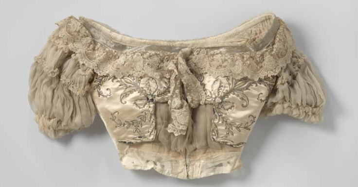 Body, 1900-1901, satin and silk with lovers, Rijks Museum Amsterdam