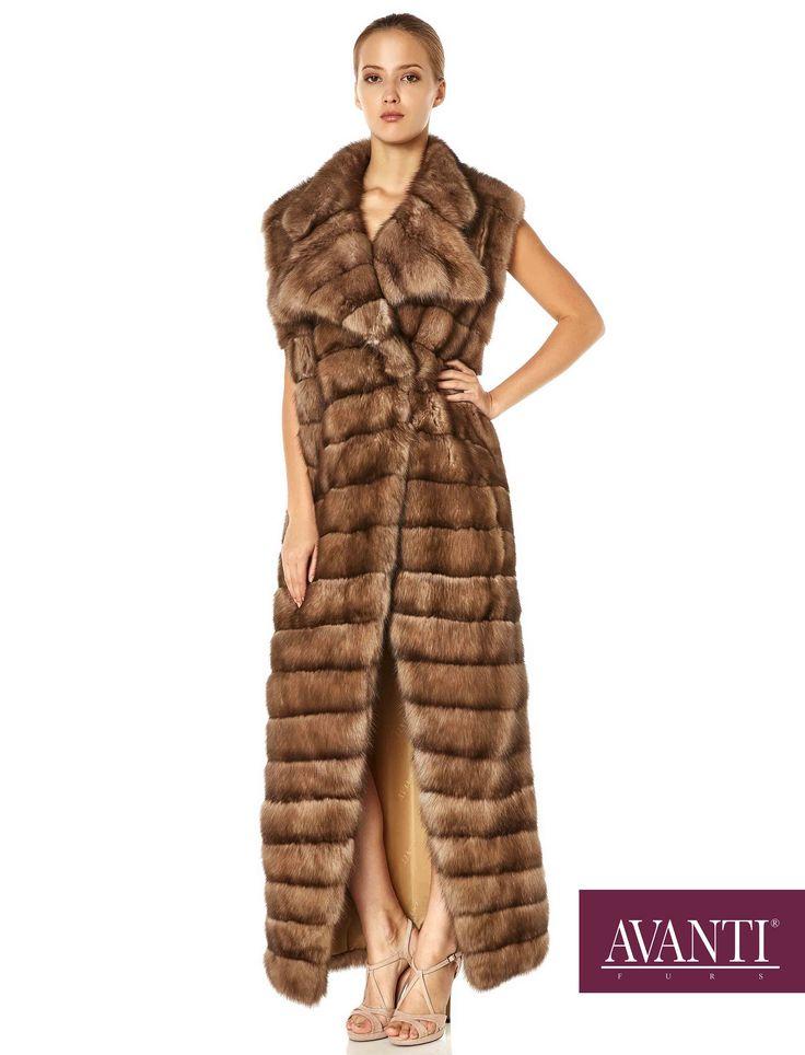AVANTI FURS - MODEL: 1973 SABLE COAT with Mink Silk details #avantifurs #fur #fashion #fox #luxury #musthave #мех #шуба #стиль #норка #зима #красота #мода #topfurexperts
