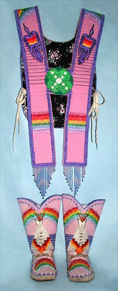 Native American Church Art - Beaded Regalia