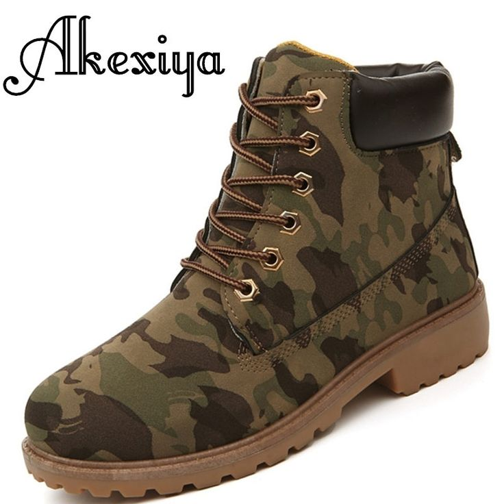 17.99$  Buy here - http://alile4.shopchina.info/go.php?t=32749639056 - 2017 Women boots Fashion Martin  Snow Boots Outdoor Casual cheap Timber Autumn Winter Lover shoes tenis feminino Locomotive  17.99$ #bestbuy