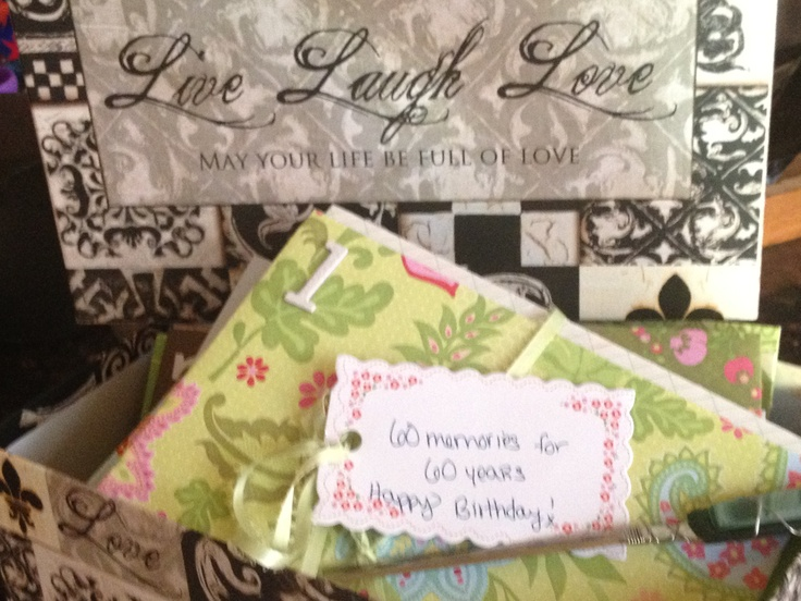 ... thoughtful gifts Ive ever received! Could be used for anniversary or