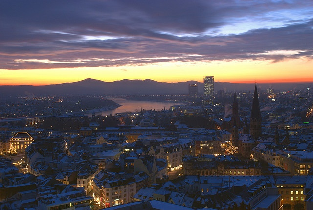 Bonn, Germany. This town has now a special meaning for me :)