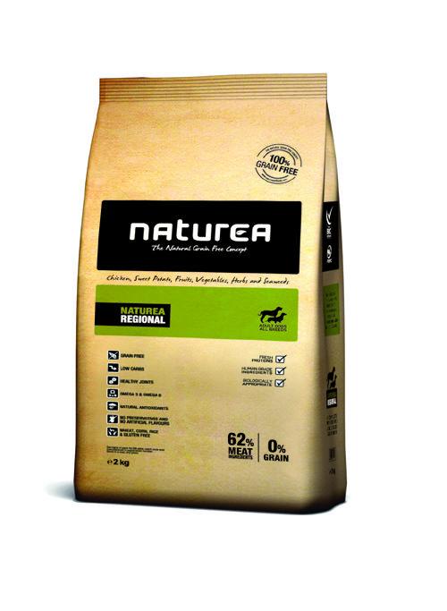 Teraz Granulované krmivo : Naturea Regional 2kg iba za 7,50€