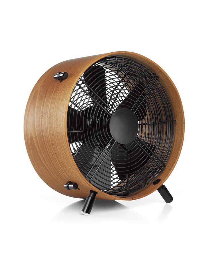 Quiet Sapele Wood Fan