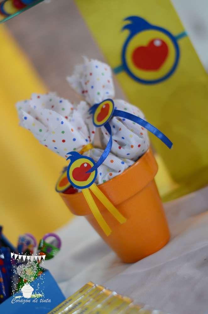 PLIM PLIM. Estallido de color Birthday Party Ideas   Photo 9 of 45