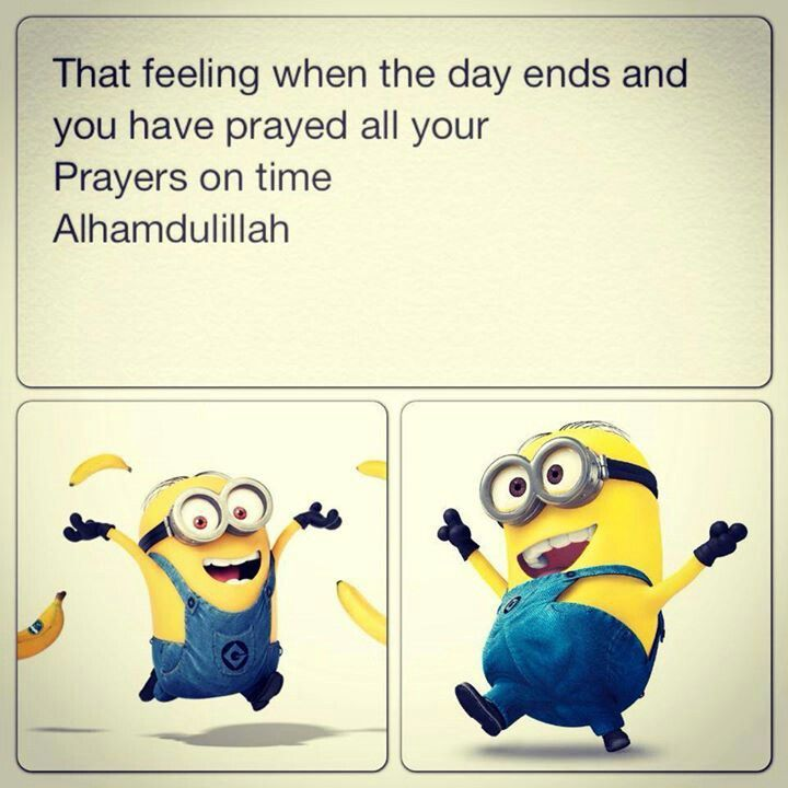May Allah grant us all the joy of being able to pray all our salah in time.Ameen