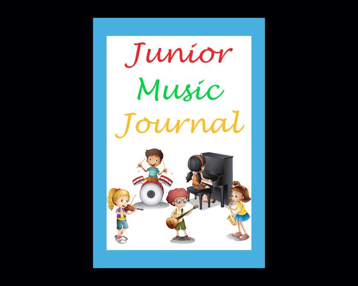 Junior Music Journal, PDF Instant Download, Record Detail of Music Lessons & Practice, Great for Kids to Track Music Progress, Gift for Kids by JadoreBooks on Etsy https://www.etsy.com/listing/243784436/junior-music-journal-pdf-instant