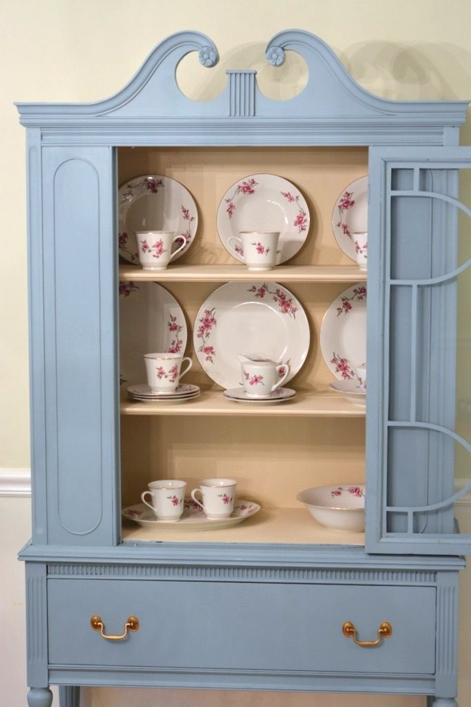 30 best CHINA CABINET images on Pinterest   China cabinets, Antique ...
