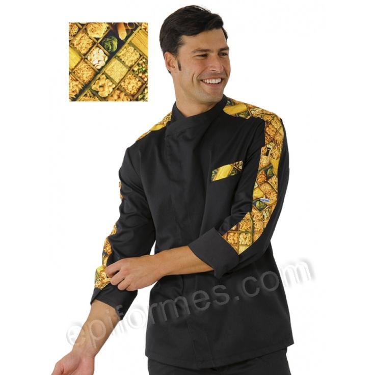 Mejores 24 im genes de ropa chef en pinterest delantales for Chaquetas de cocina originales