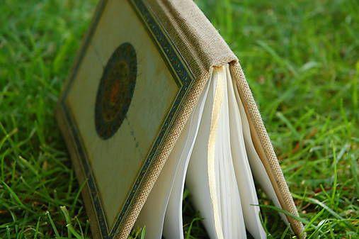Ručne šitý skicár/zápisník/denník *Orient*