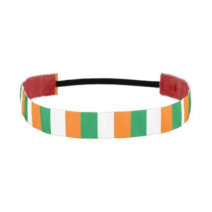 Non-Slip Headband with Flag of Ireland - trendy gifts cool gift ideas customize