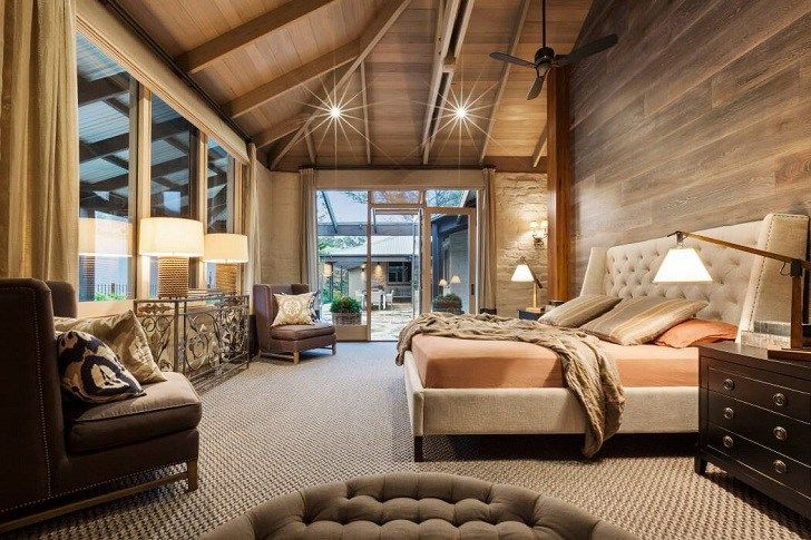 Autumn Shades Interior in Australia, design, décor, interior, Australia, house, autumn, colors, warm, orange, bedroom