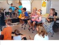 autism summer camp music therapy