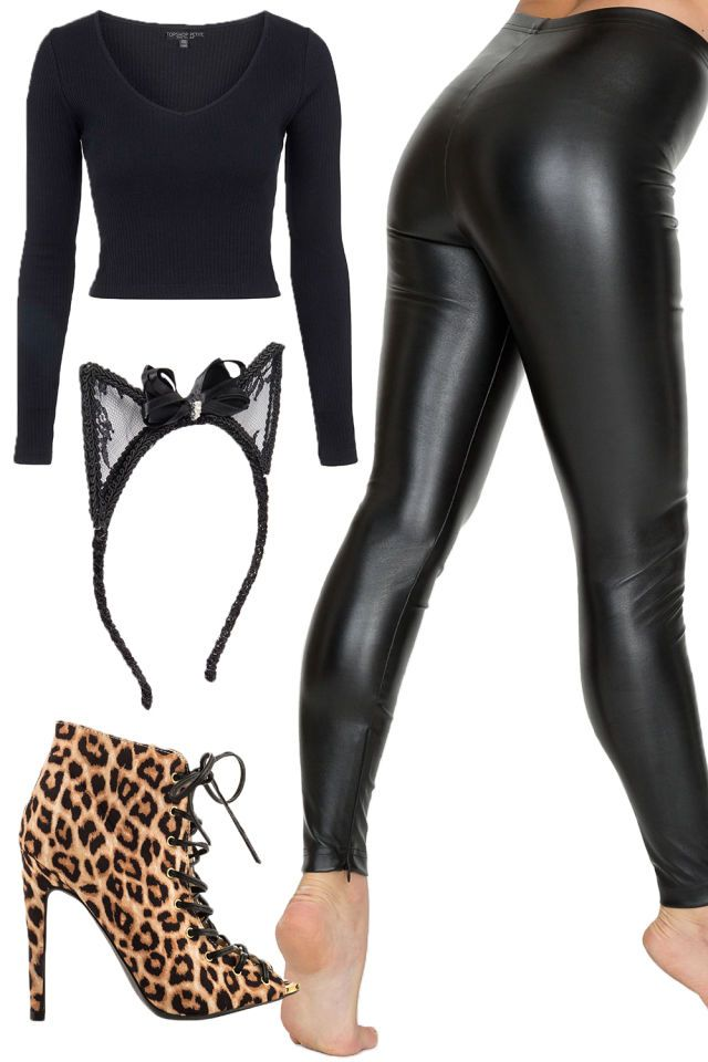 8 sexy costumes you can make with clothes youll wear again classy halloween costumesideas for - Cat Outfit For Halloween