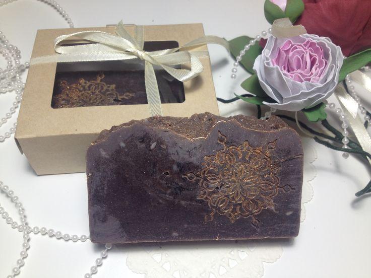 Натуральное мыло с нуля Шокодадное