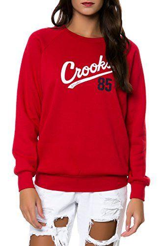 Crooks and Castles Women's Starter Crewneck Sweatshirt Extra Small Red Crooks & Castles http://www.amazon.com/dp/B00JK3A0MQ/ref=cm_sw_r_pi_dp_UPNtub130QCTY