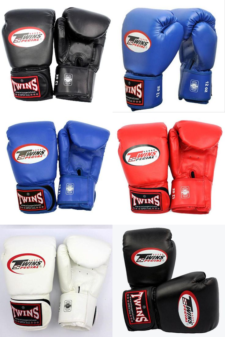 [Visit to Buy] 10 12 14 oz Boxing Gloves PU Leather Muay Thai Guantes De Boxeo Free Fight mma Sandbag Training Glove For Men Women Kids 4 Color #Advertisement