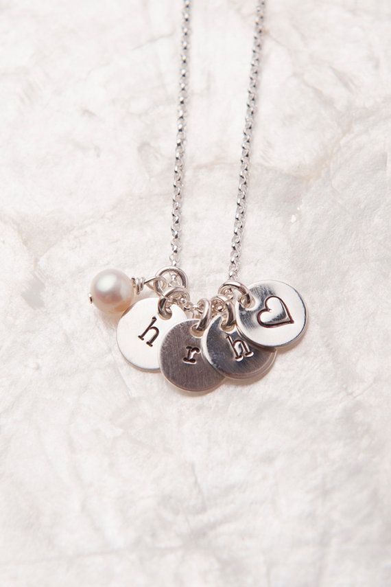 present pendant initial silver necklaces necklace in push birthstone sterling mom jewelry item letter from personalized monogrammed new custom