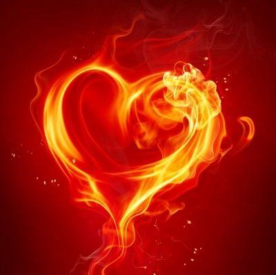 Hart Van Vuur Tekeningen Hart Vuur En Liefde Is