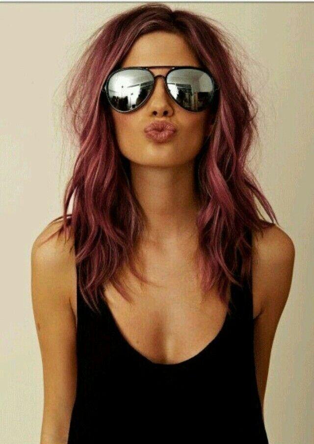 Chocolate E Burgundy Hair Color