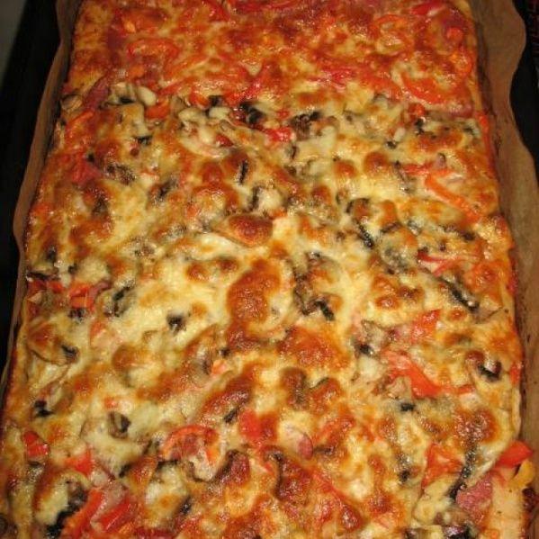 Pizza a la Jamie