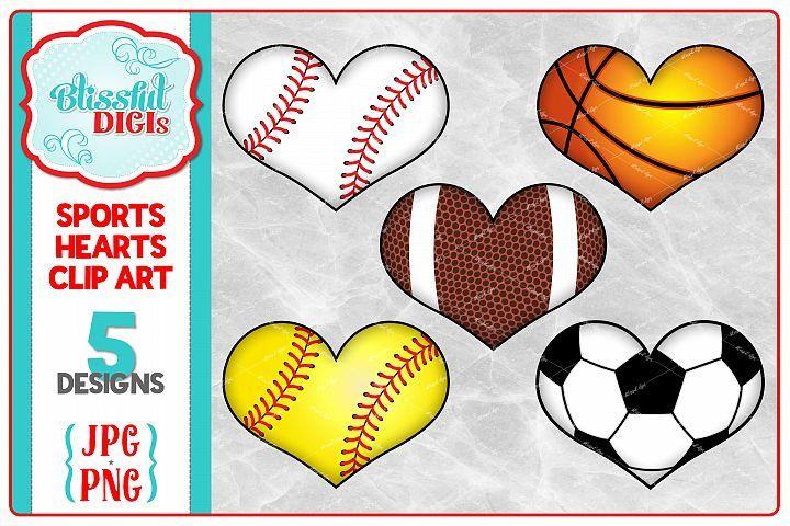 Sublimation Sports T Shirt Design Sports Hearts 135993 Sublimation Design Bundles Heart Clip Art Clip Art Sports Tshirt Designs